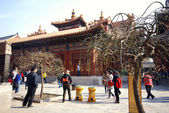 Lama Temple in Beijing, China. — Stock Photo