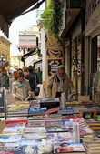 Street book shop, Nice, France — Stock Photo