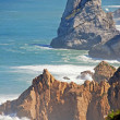 ������, ������: Cabo da Roca Cape Roca cliffs and Atlantic ocean