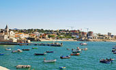 Fishing boats , Cascais, Portugal.  — Stock fotografie