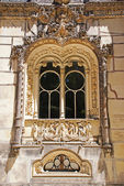 Manueline style window, Sintra, Portugal — Stockfoto