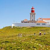 Cabo da Roca Lighthouse, Portugal. — Stock Photo