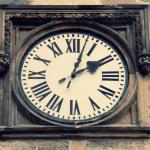 Medieval clock in Prague — Stock Photo #49571031