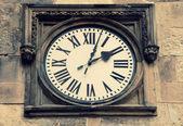 Medieval clock in Prague — Photo