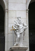 St. Paul statue at Salzburg Cathedral, Austria — Stock Photo