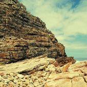 Rocks near Cape of Good Hope, South Africa. — Stock Photo