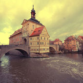 The Old Town Hall of Bamberg(Germany) — Stock Photo