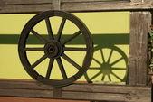 La rueda y su sombra — Foto de Stock
