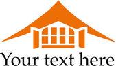 Maison logo — Vecteur