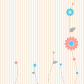 Background - floral — Stock Vector