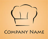 Set of chef hats. Chef logo. — Stock Vector