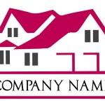 Сompany logo house. House roof logo — Stock Vector #26610007