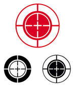 Cross Hairs. Target — Stock Vector