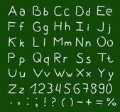 Alphabet vector — Stock Vector