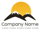 Góry logo — Wektor stockowy