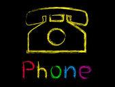 Telefoon — Stockvector