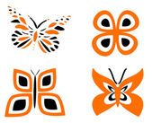 Butterfly — Stock Vector
