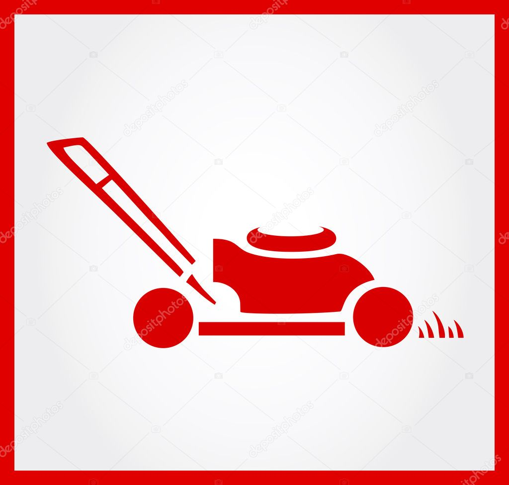 lawn mower vector - photo #35