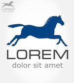 Horse symbol. Vector illustration. — Stock Vector