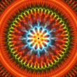 Joyful mandala — Stock Photo