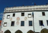 Old town hall in Cesky Krumlov — Stock Photo