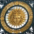Stock Photo: Symbol of Louis XIV (Sun King)