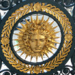 Symbol of Louis XIV  (Sun King) - Stock Photo
