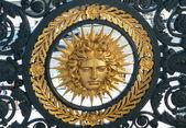 Symbol of Louis XIV (Sun King) — Stock Photo