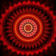 Bloody mandala - Stock Photo