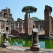 Hadrian's villa (Villa Adriana) - Stock Photo