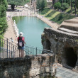 Hadrian's villa (Villa Adriana) — Stock Photo