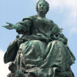 Statue of empress Maria Theresa — Stock Photo
