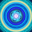 Blue mandala — Stock Photo #20005787