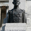 Bronze bust of admiral of Fleet Andrew Cunningham — Stock Photo #30635365