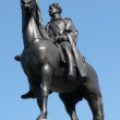 Foto de Stock  : Statue of king George IV