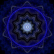 Stock Photo: Blue mandala