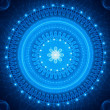 Blue mandala — Stock Photo #38173031