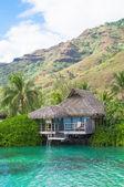 Honeymoon best travel destination — Stock Photo