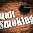 Quit smoking — Foto Stock