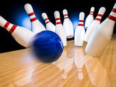 Bowling time! — Stock Photo