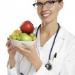 Young woman doctor — Stock Photo