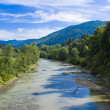The river in mountains — Stock Photo