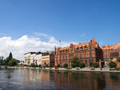 Bydgoszcz - city in Poland — Stock Photo