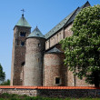 Tum, old polish collegiate romanesque church — Stock Photo #12735058