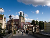 St.John's bridge in Klodzko — Stock Photo