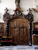 The Henrykow old cisterian abbey, interiors, Poland — Stock Photo
