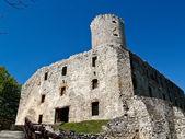 Lipowiec gotiska slottet, babice, polen — Stockfoto