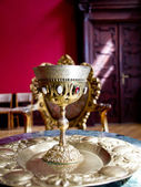 The golden chalice bishop's, Poland — Stock Photo