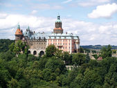 Ksiaz castle, panorama, Poland — Stock Photo