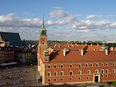 El castillo real en varsovia, polonia — Foto de Stock